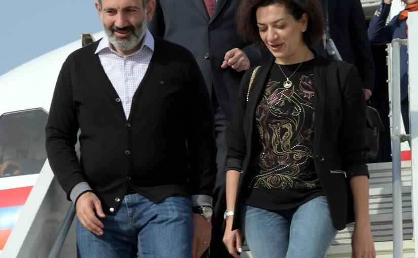 Armenian Pr Minister Arrived at Beirut Rafic Hariri Airport