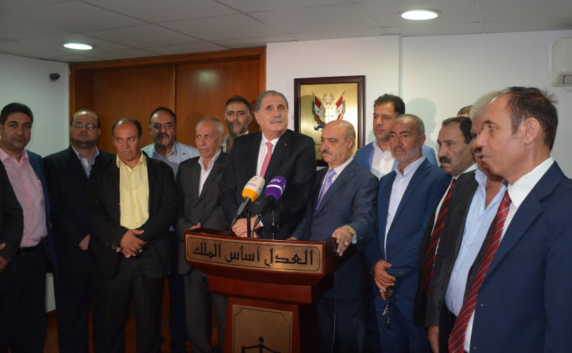 Minister Selim Jreysati Meets a Delegation From Baalbek Hermel