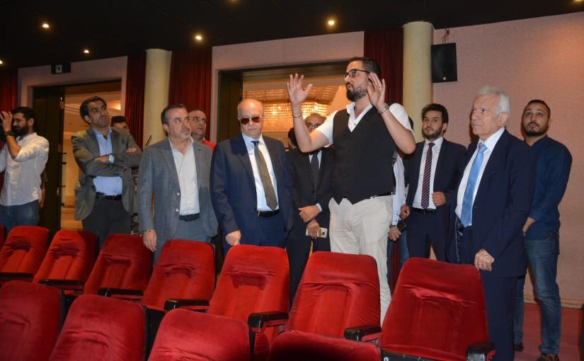 Minister Ghattas Khoury Inaugurates a  Fair at UNESCO