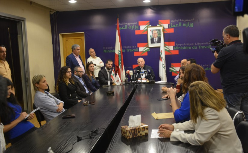 Press Conference for Minister Mouhamad Kabara