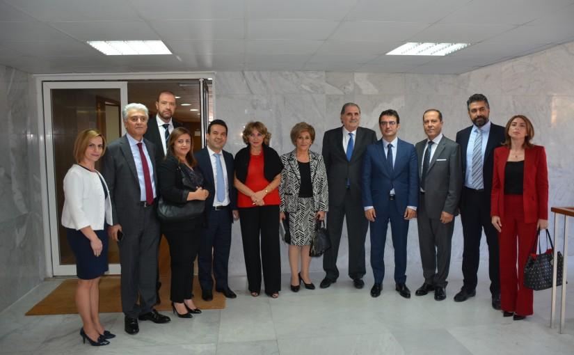 Press Conference for Minister Selim Jraysati
