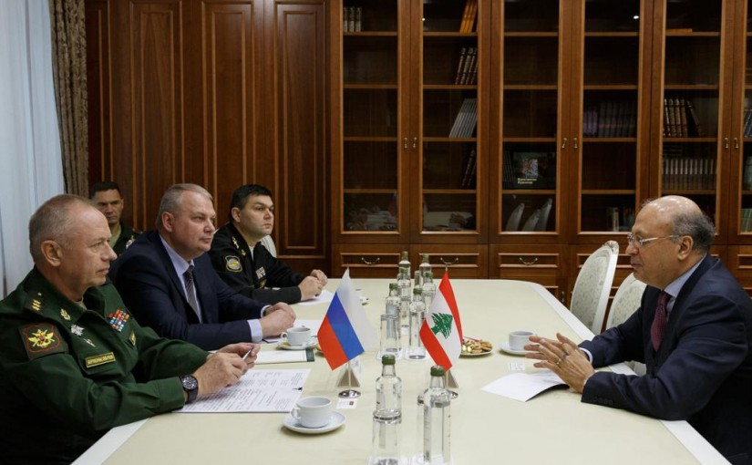 Mr George Cheaban meets Deputy Russian Minister of Defence