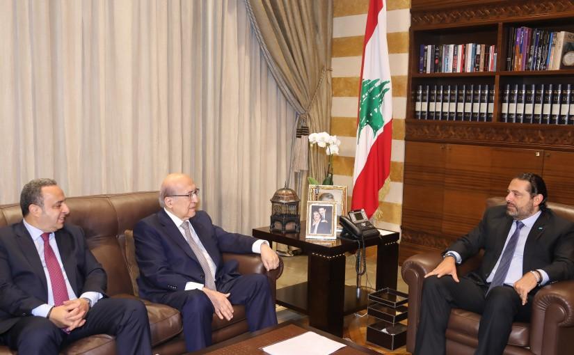 Pr Minister Saad Hariri meets Mr Joseph Tarabay