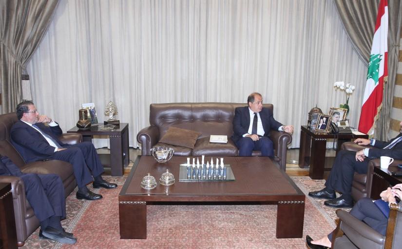 Pr Minister Saad Hariri meets Mr Charles Arbid & Mr Mouhamad Choukair