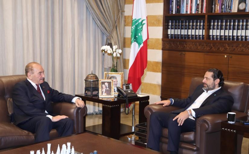 Pr Minister Saad Hariri meets Mr Nazme Obeji