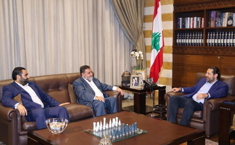 Pr Minister Saad Hariri meets MP Khaled el Daher