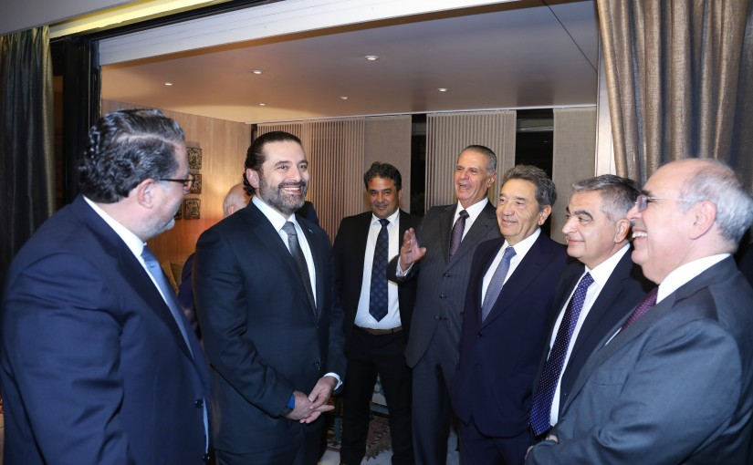 Dinner Hosted by Elias Doumit in Honors of Pr Minister Saad Hariri