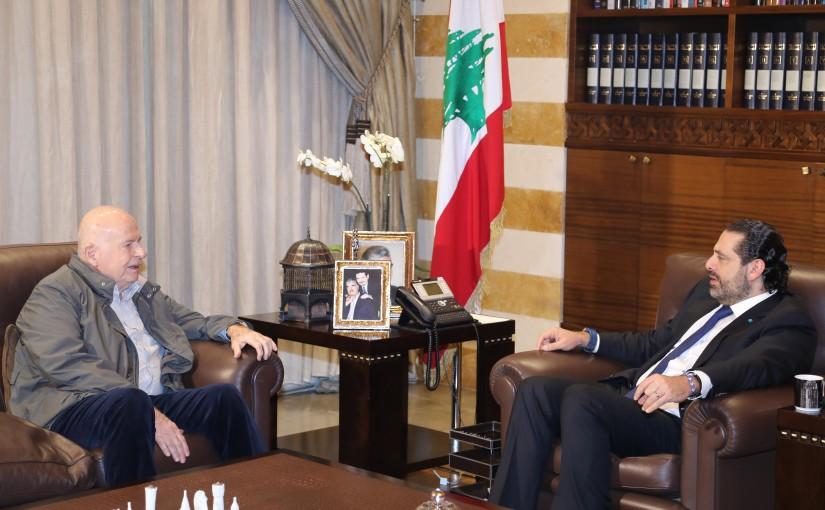 Pr Minister Saad Hariri meets Minister Mouhamad Kabara