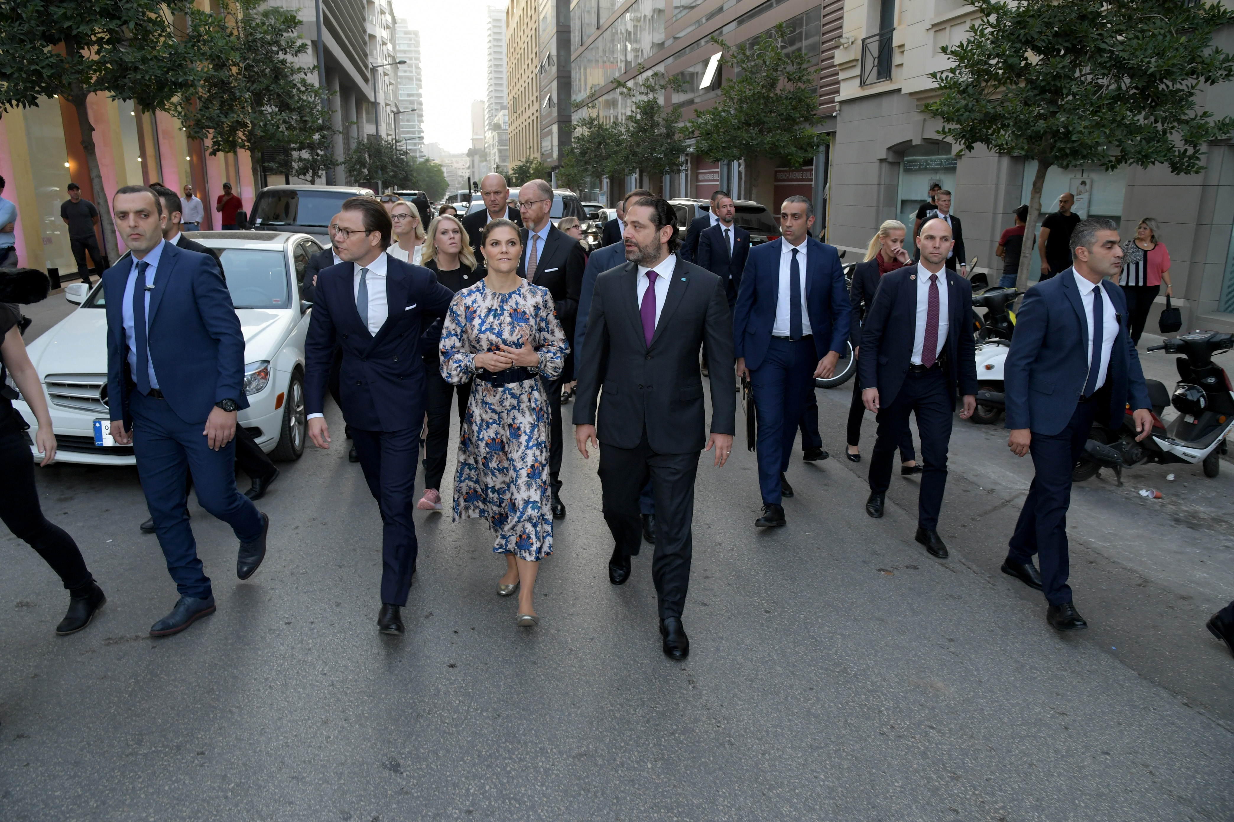 Pr Miniser Saad Hariri Visits Beirut Souks 1