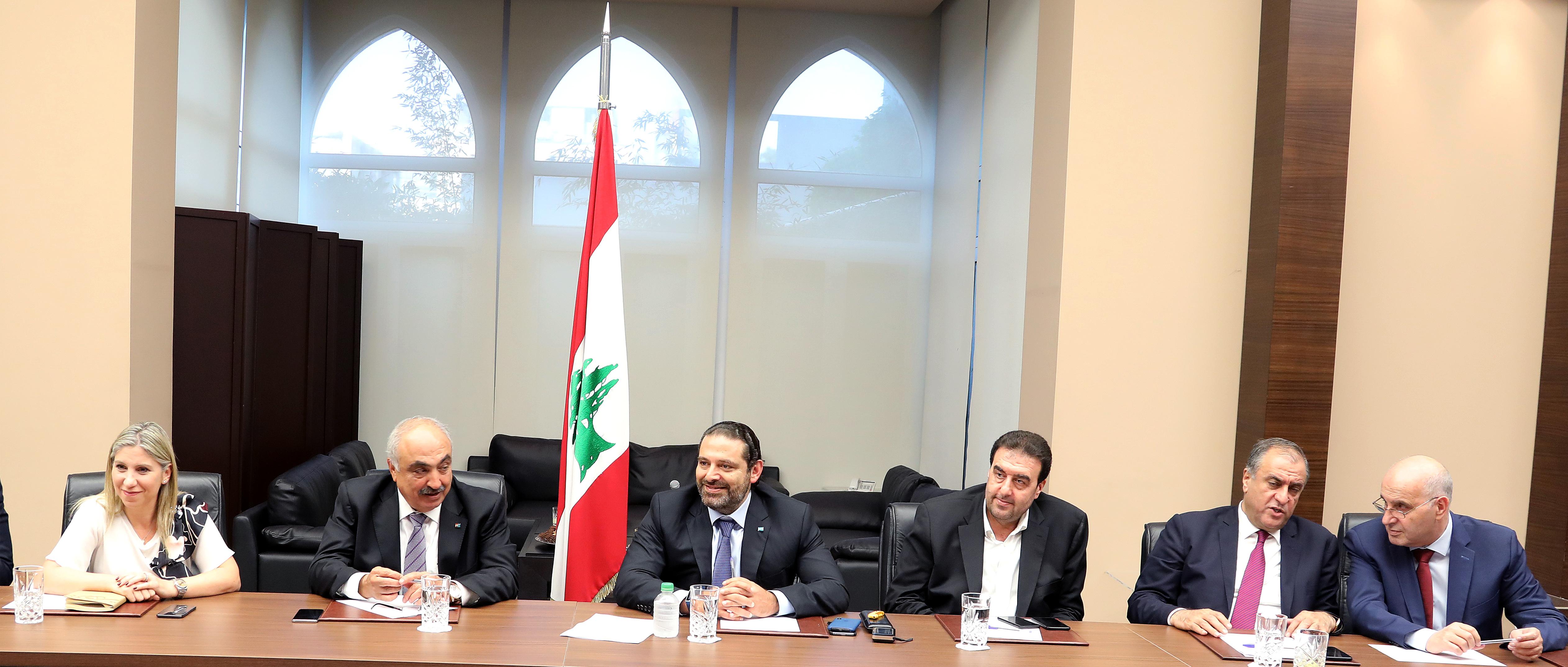 Pr Minister Saad Hariri Heading Almustabal MPs Bloc 1