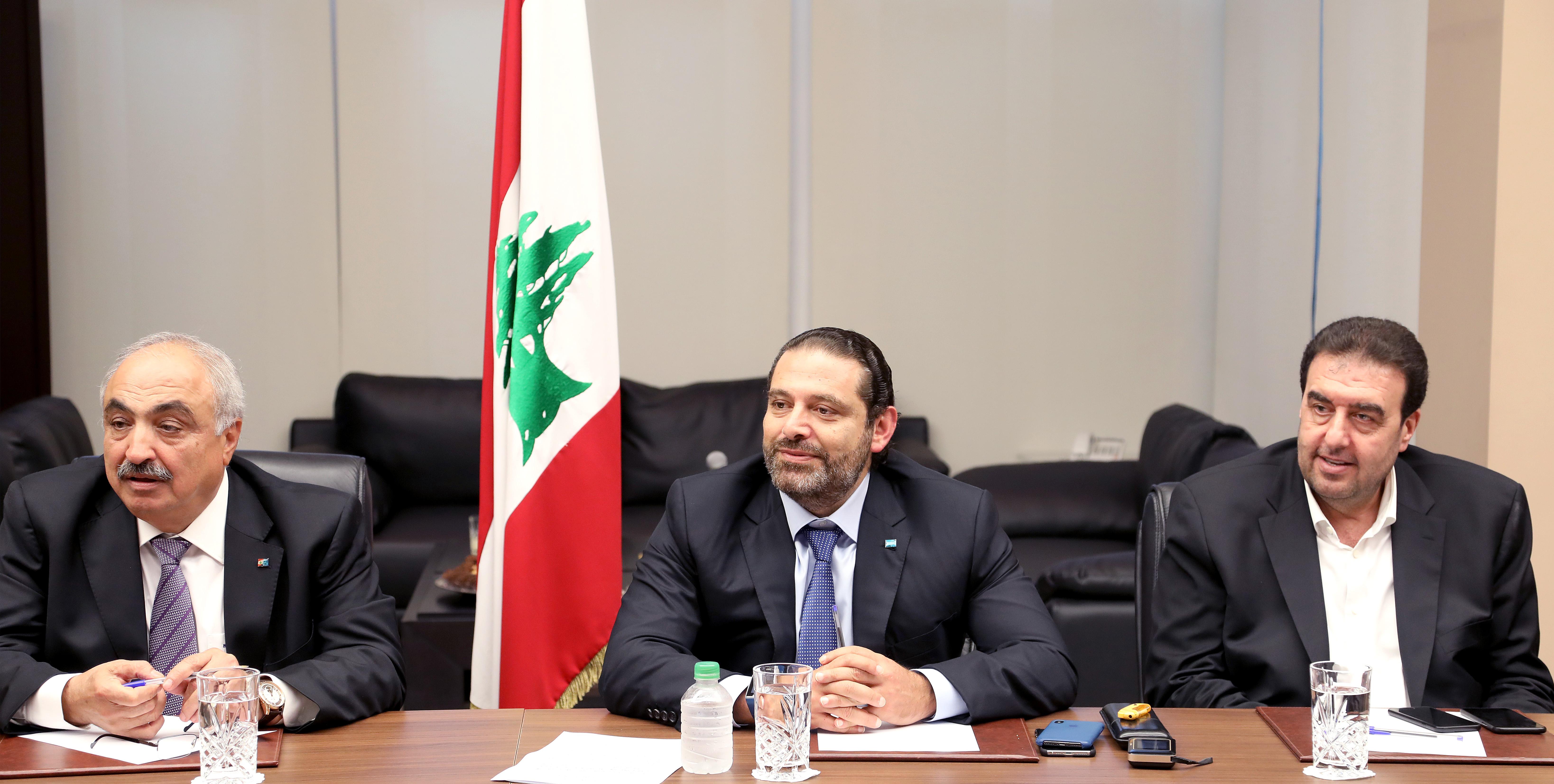 Pr Minister Saad Hariri Heading Almustabal MPs Bloc 2