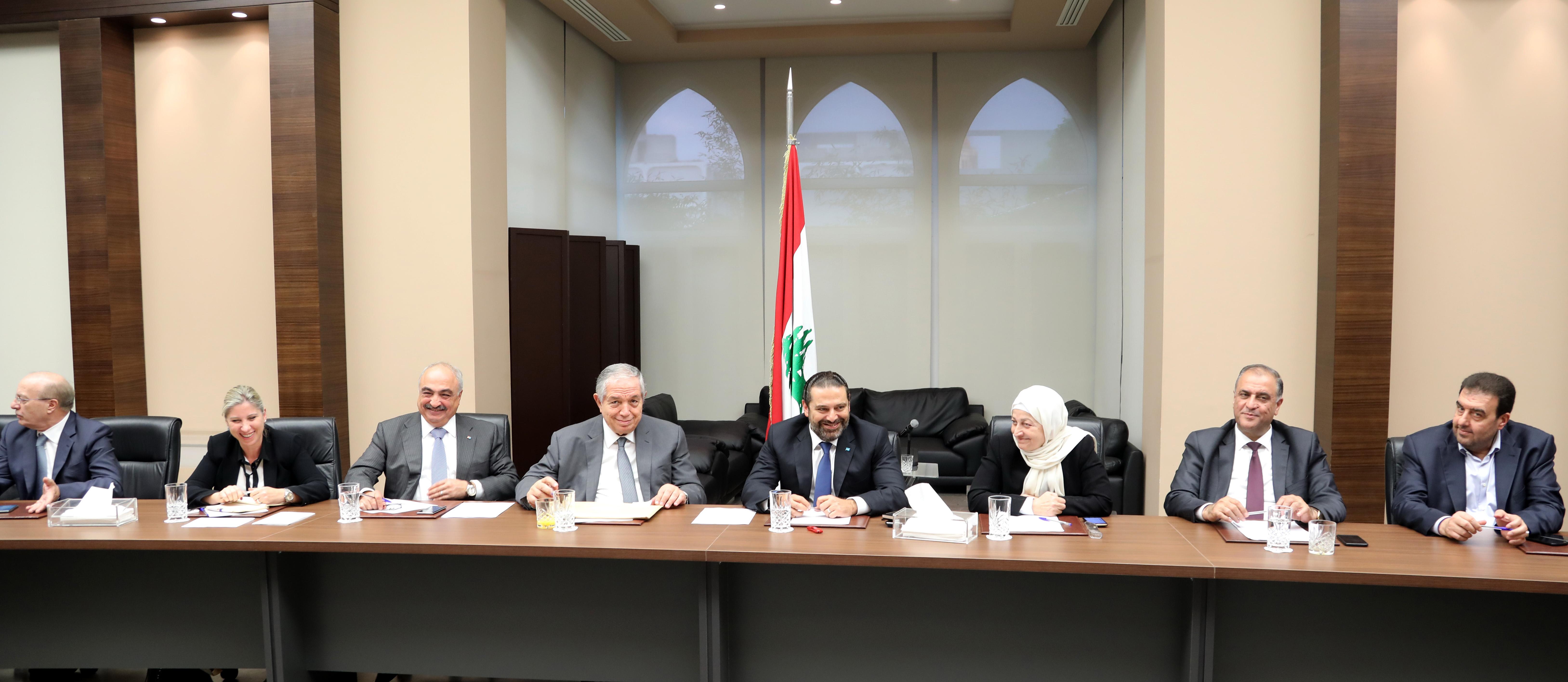 Pr Minister Saad Hariri Heading Almustaqbal MPs Bloc 2