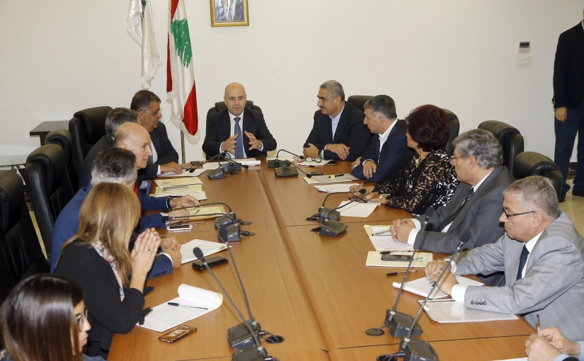 Minister Ghassan Hasbani Heading the Highest Council For Health