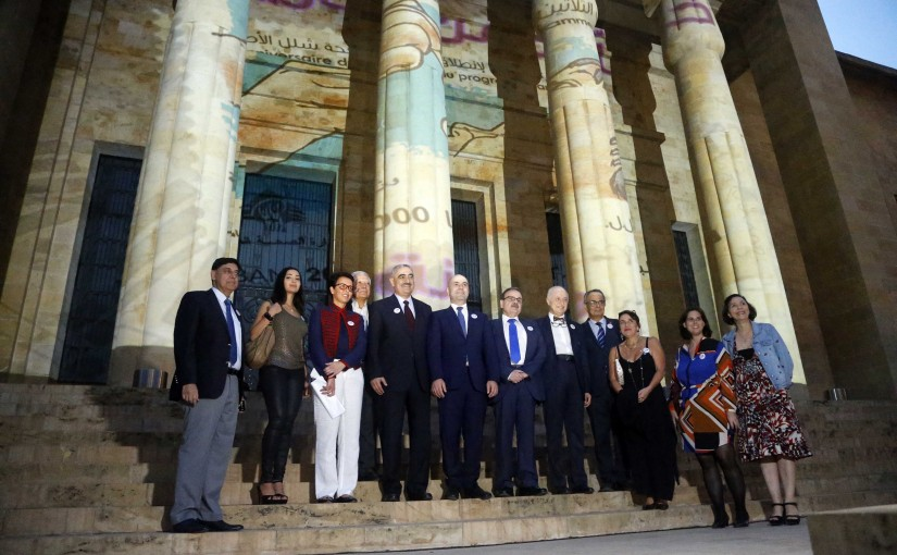 Minister Ghassan Hassbani at the National Museum