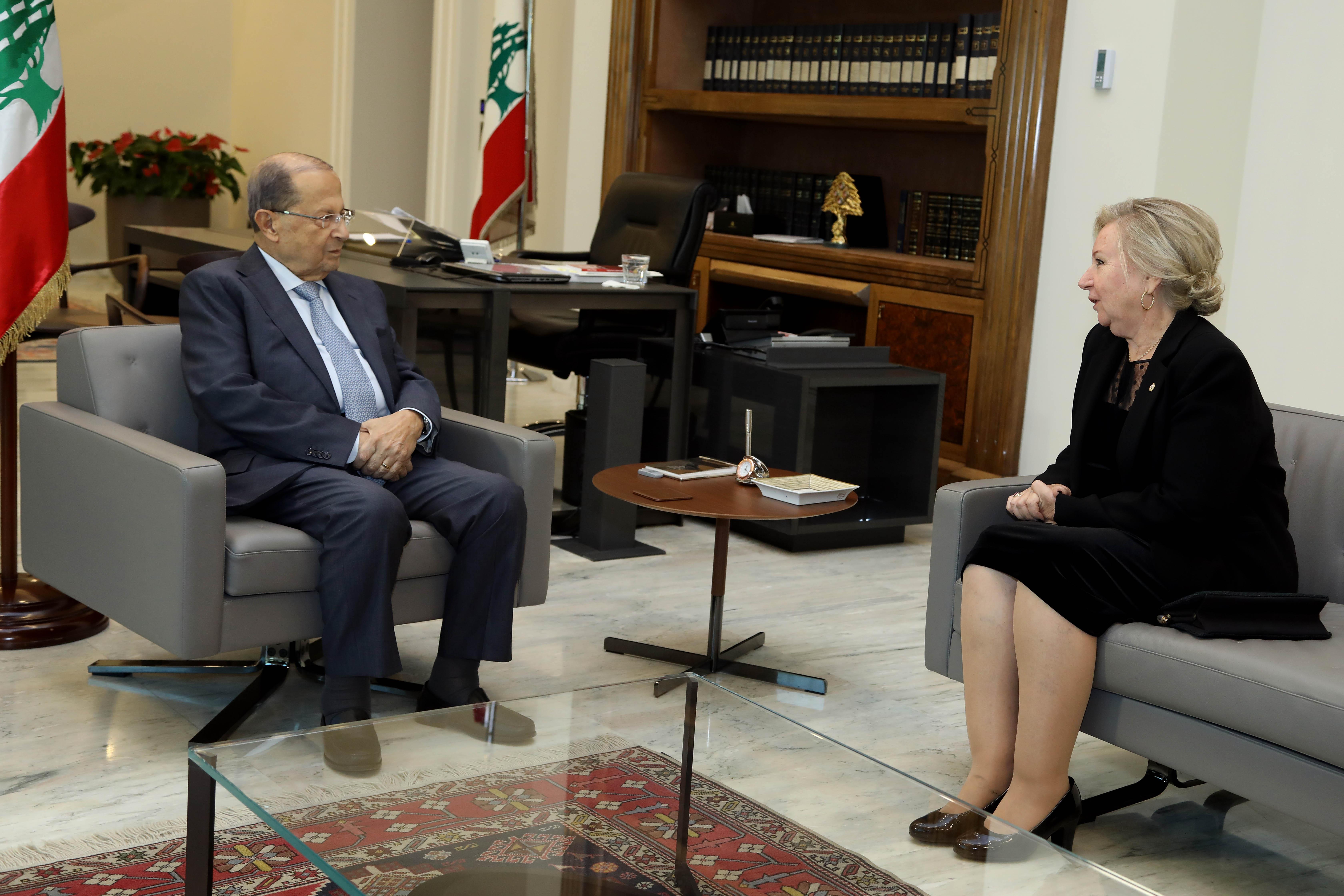 2 - Marta Ines Pizzaneli Ambassador of Uruguay to Lebanon