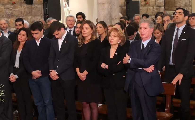 President Gemayel on the 12th anniversary of the martyrdom of Pierre Gemayel