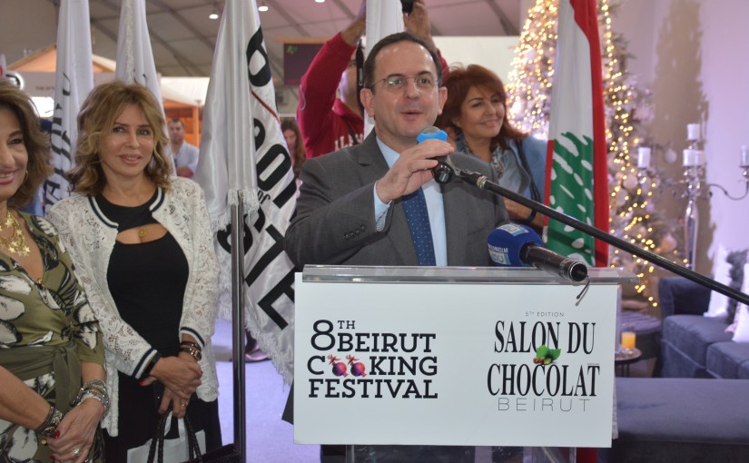 Minister of Tourism Inaugurates the Chocolate Fair at Seaside