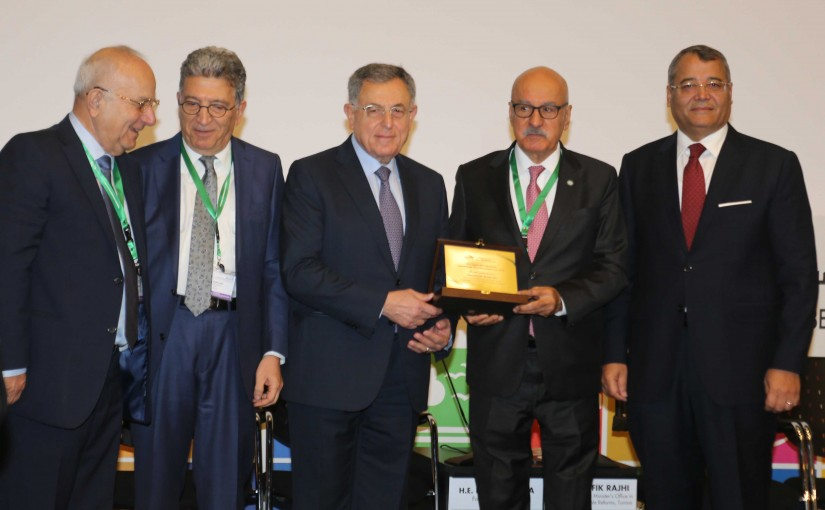 Lecture for Former Pr Minister Fouad Siniora at Financial Development Sustainable Conference