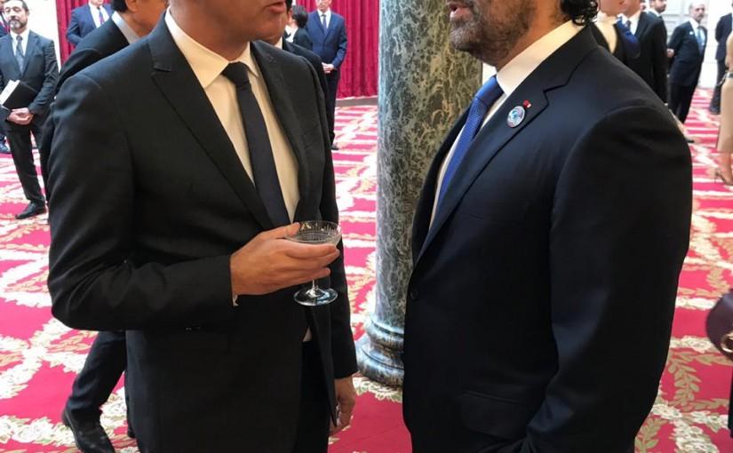 Pr Minister Saad Hariri meets Suisse President