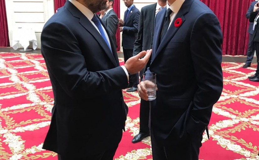 Pr Minister Saad Hariri meets Canadian Pr Minister