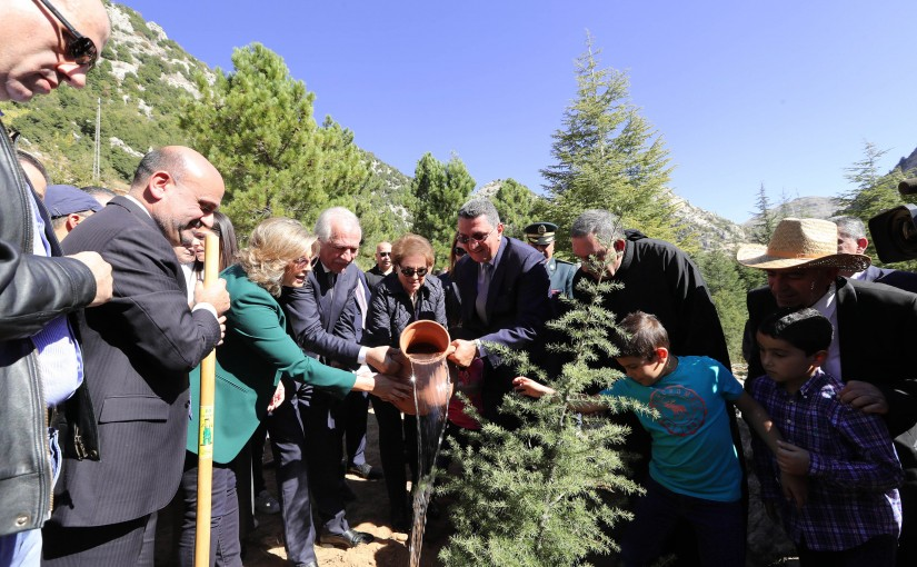 Launching the campaign for the 2018-2019 season and launching the forest project of the President Michel Aoun (ARZ -EHMEJ)