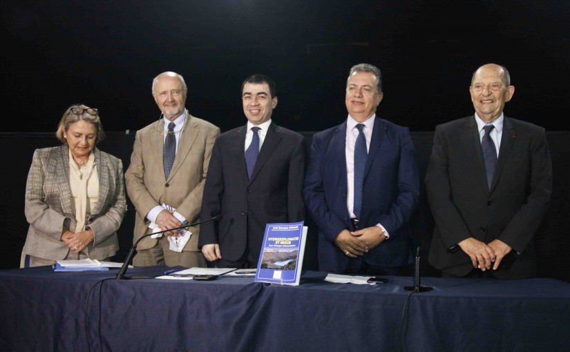 Minister Cesar abi Khalil Attends the Signing Agreements of Fadi Koumaire Mr