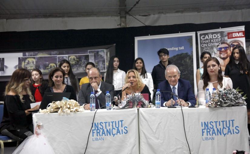 Lecture for Minister Pierre abi assi at Lire en francais