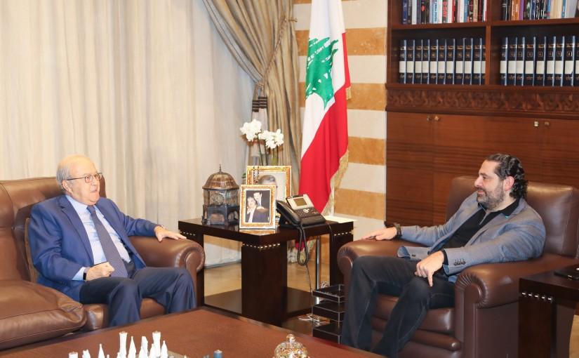 Pr Minister Saad Hariri meets Former MP Mouhamad Kabani