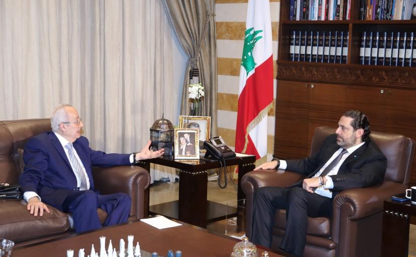 Pr Minister Saad Hariri meets Mr George Baher