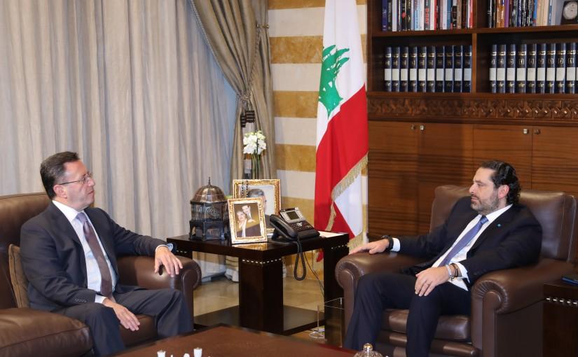 Pr Minister Saad Hariri meets Armenian Ambassador