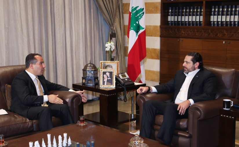 Pr Minister Saad Hariri meets Mr Said Yassine