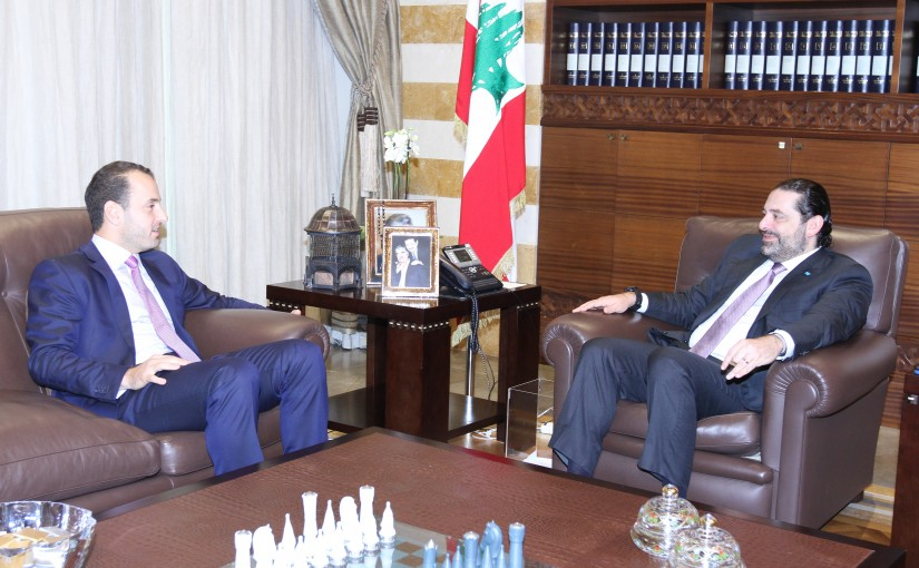 Pr Minister Saad Hariri meets Former MP Ziad el Kadri