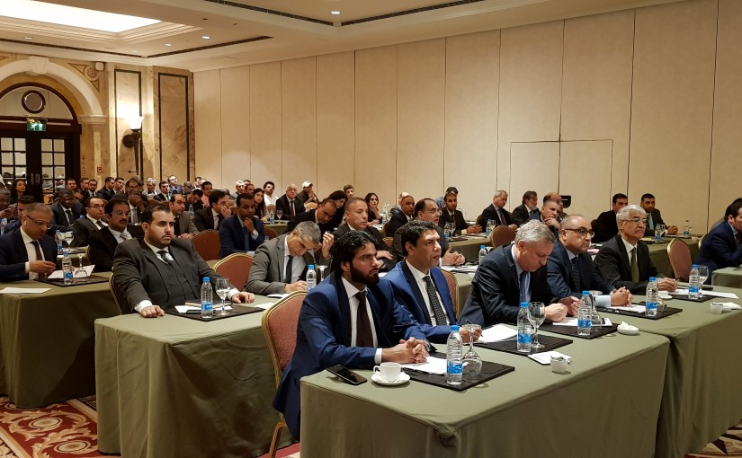 Meeting for the Supreme Committee of the Arab Summit for Development Economic and Social. Arab Ambassadors, Hotel Phoenicia.