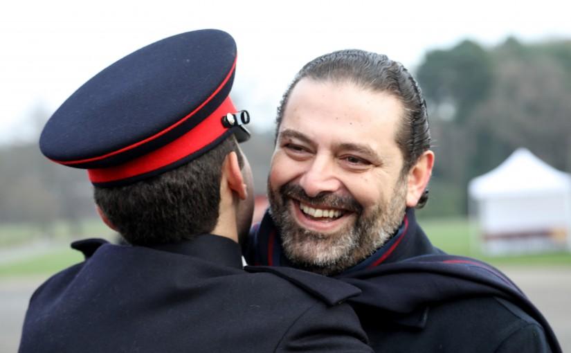 Pr Minister Saad Hariri Attends the Graduation of Houssam Hariri