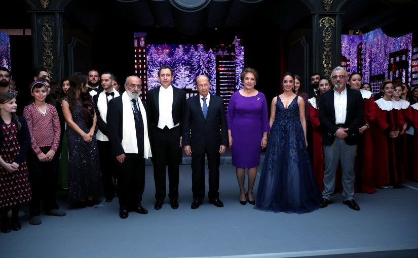 Christmas Recital at Baabda Palace.