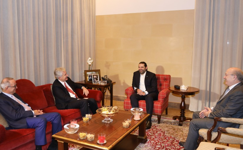 Pr Minister Saad Hariri meets Mr William Burns