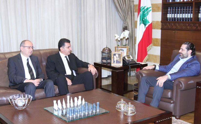 Pr Minister Saad Hariri meets Mr George Khamiss