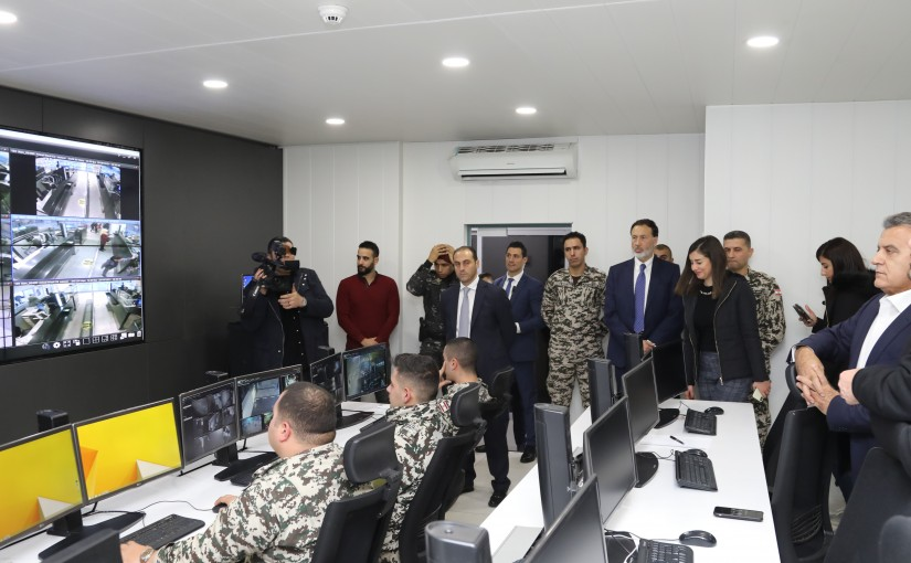 Pr Minister Saad Hariri Visits General Security forces