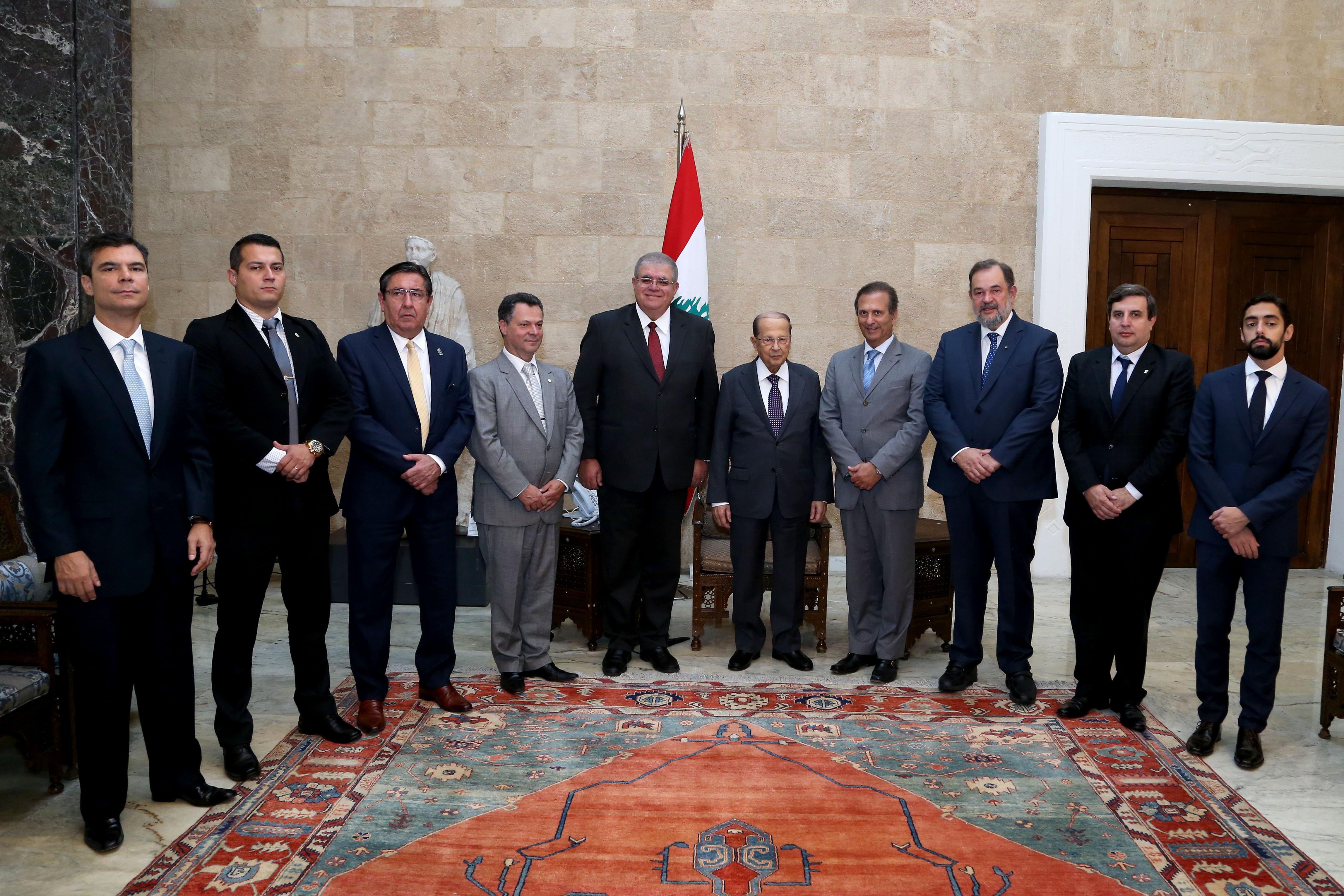 meets Minister Carlos Eduardo Xavier Marun with a delegation (2)