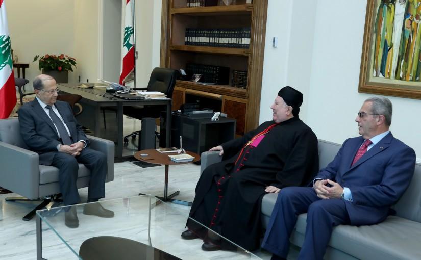 2 - Bishop Boulos Mattar & Former Minister Wadih Khazen