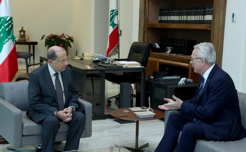 3 - Ambassador of Hungary to Lebanon Geza Mihalyi