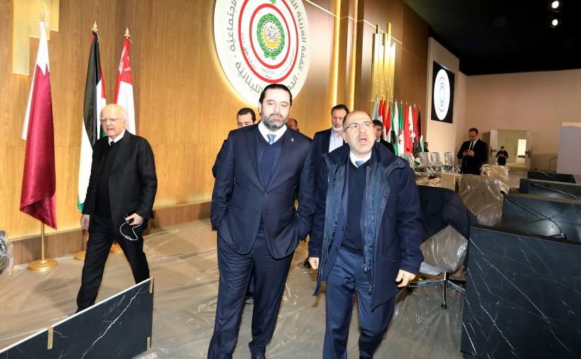Tours for Pr Minister Saad Hariri at the Arab Summit