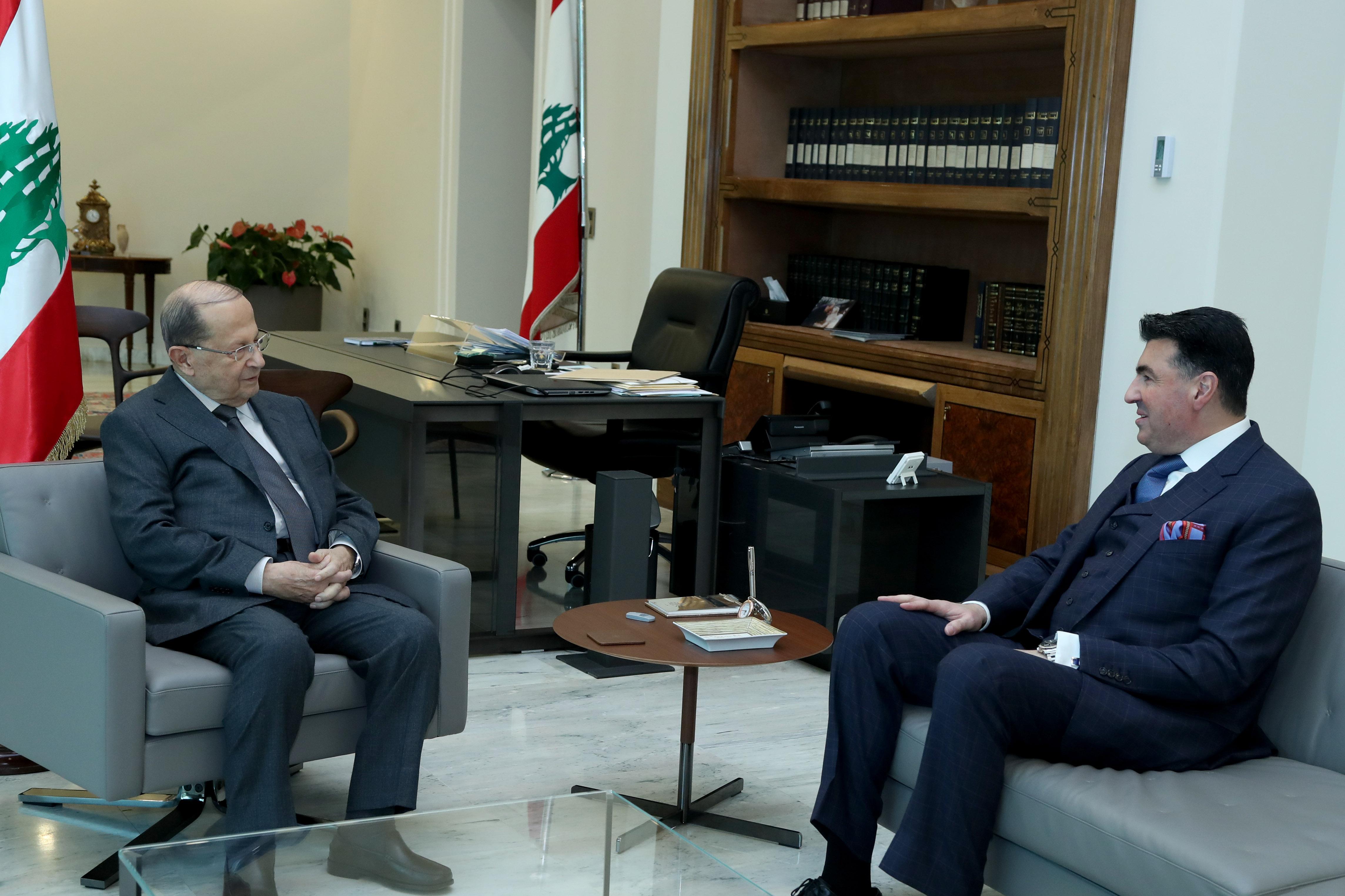 4 -  Lebanese Ambassador to Argentina Johny Ibrahim