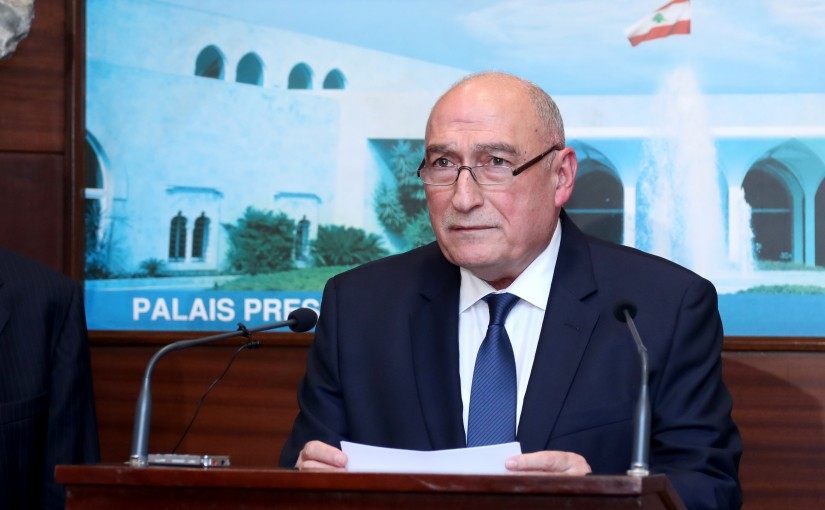 Council of Ministers Secretary General Fouad Fleifel.