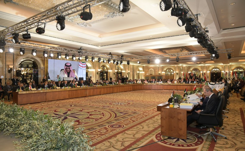 Meeting for Ministries of Foreign Arab at Phoenicia hotel