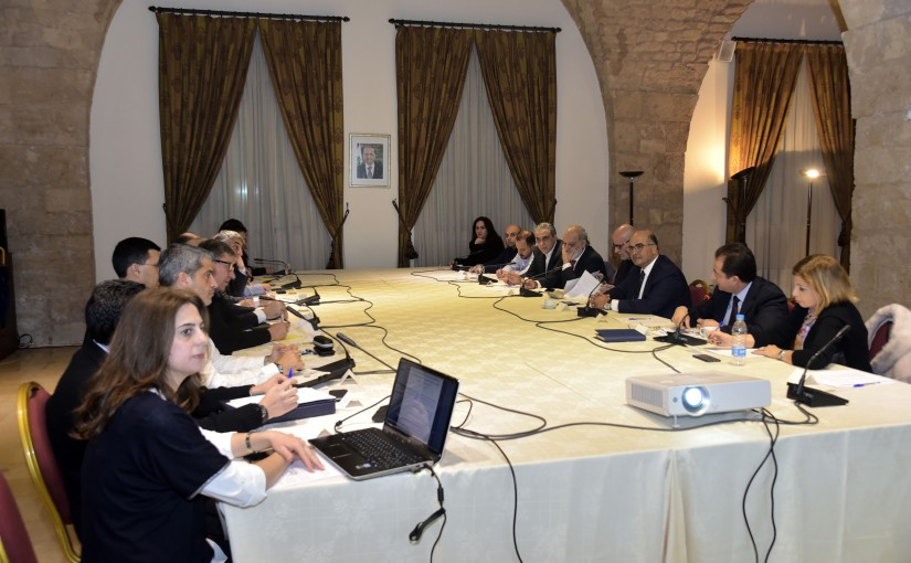 Meeting at the Grand Serail