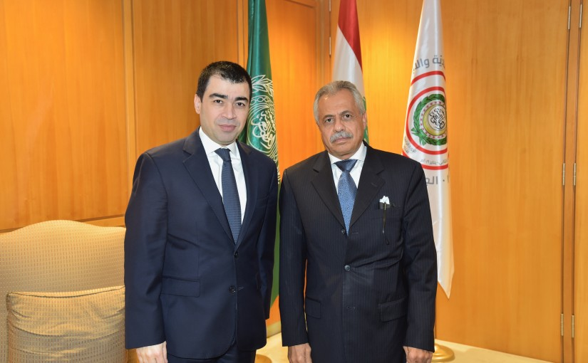 Minister Cesare abi Khalil meets Yemen Delegation