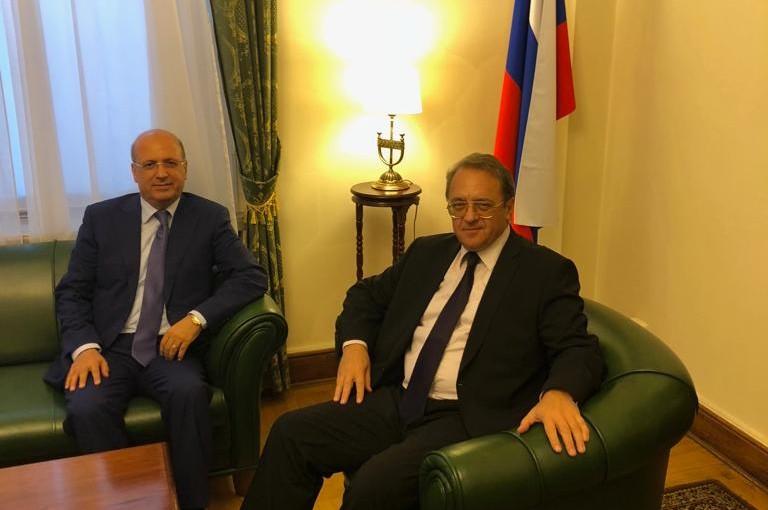 Mr George Sheaban meets Mr Micheal Boghdanove