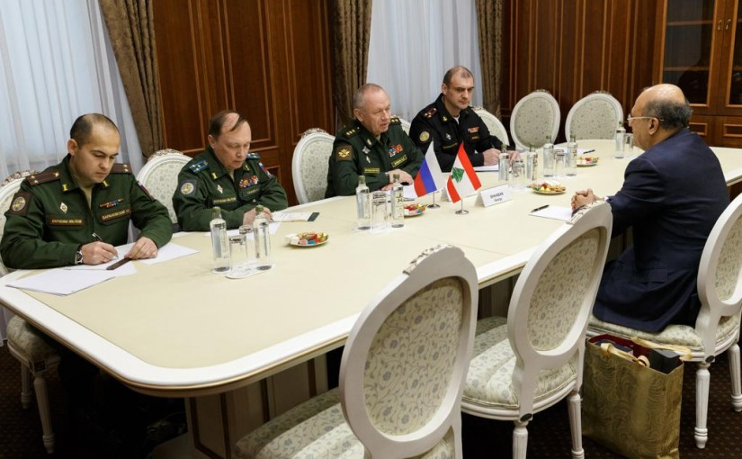 Mr George Cheaban meets Deputy Russian Minister of Defense