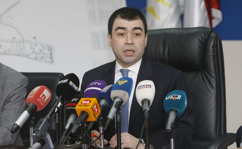 Signing Agreements Between Russian Company and Ministry of Electricity